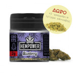 hempower blueberry 17% cbd 2 gr