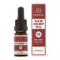 endoca raw σταγονες 15% cbd-cbda 10ml