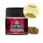 Ανθοί κάνναβης hempower strawberry call 17%cbd 2gr