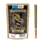 preroled stick hempower black mamba 19%cbd 1 pcs